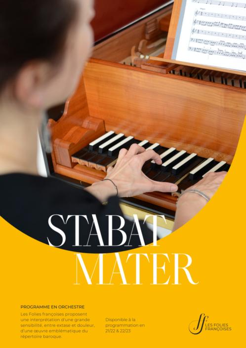 "Programme ""Stabat Mater"" - Folies françoises"