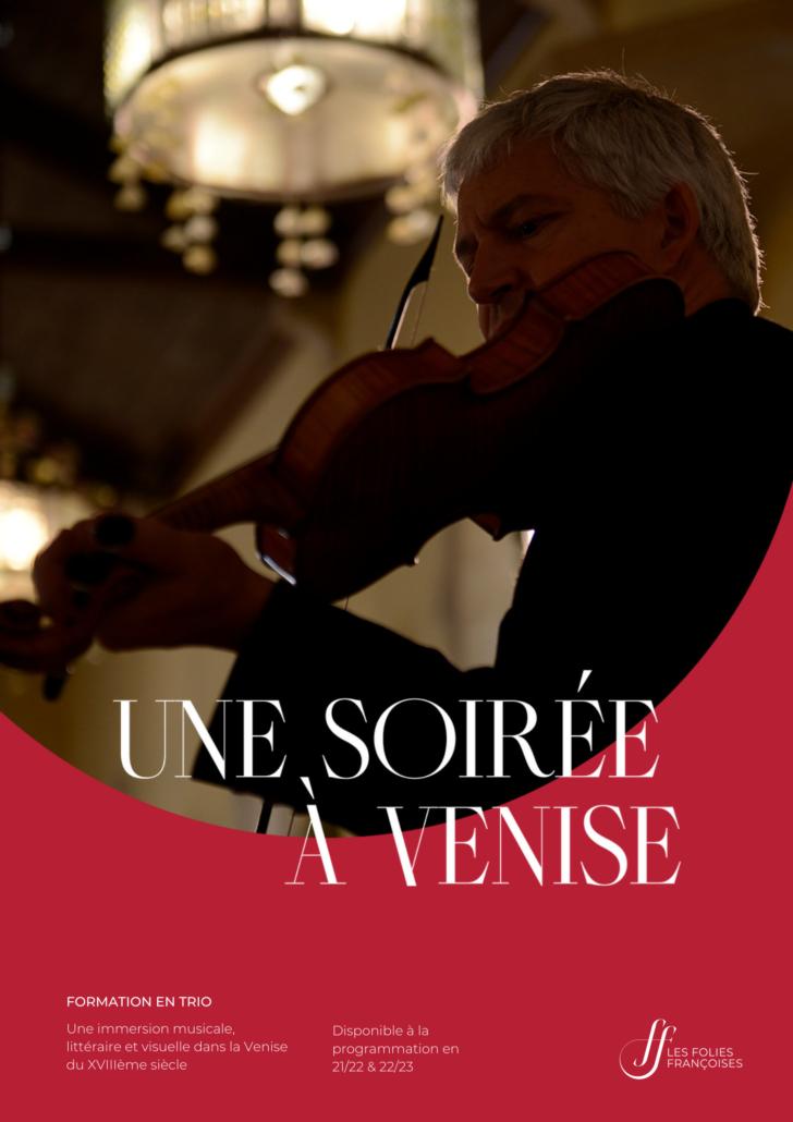 """Programme """"Une soirée à Venise"""" - Folies françoises"""
