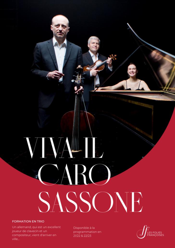 "Programme ""Viva il Caro Sassone"" - Folies françoises"